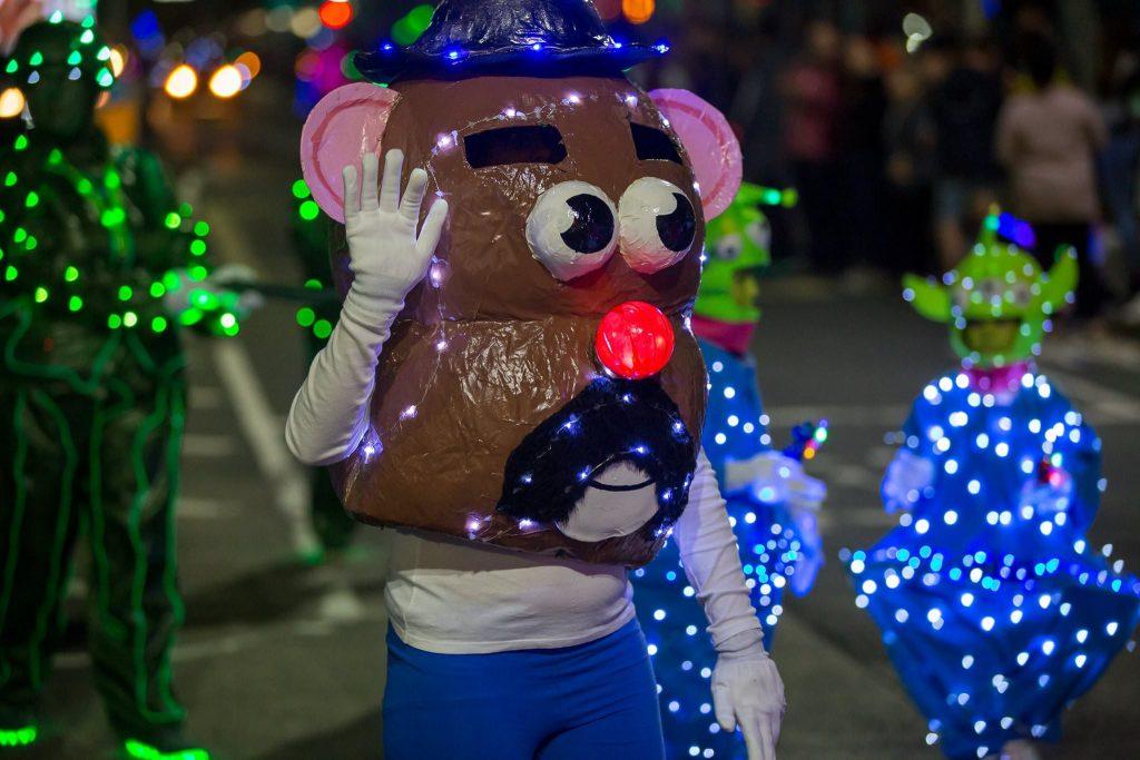 Newport Illuminated Carnival 2018